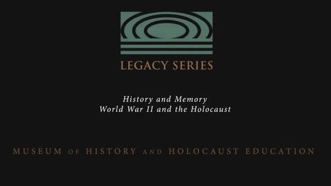 Thumbnail for entry Andre Kessler: Maintaining Jewish Customs