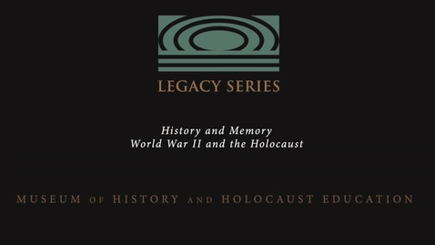 Thumbnail for entry Murray Lynn: Holocaust Memory