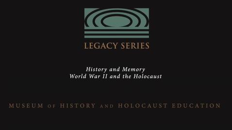 Thumbnail for entry Herbert Kohn: Kristallnacht