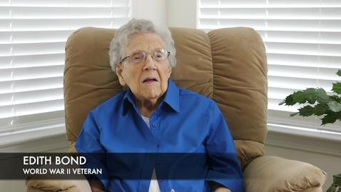 Thumbnail for entry Edith Bond: Roosevelt's Social Programs