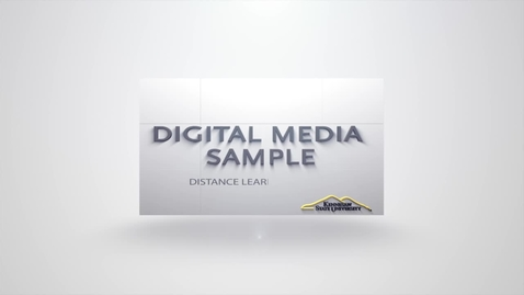 Thumbnail for entry KSU DLC Digital Media Promo 2016