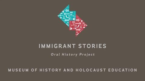 Thumbnail for entry Sheva Vapne: A Few Months in Italy