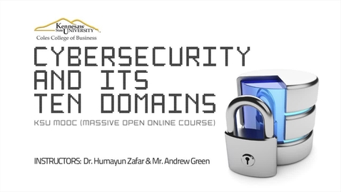 Thumbnail for entry Cyber Security MOOC Welcome Video