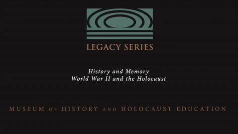 Thumbnail for entry Gitte Toben: Rescue of the Danish Jews