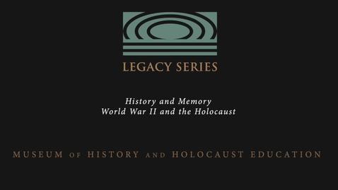 Thumbnail for entry Edward Francell: Jewish Identity
