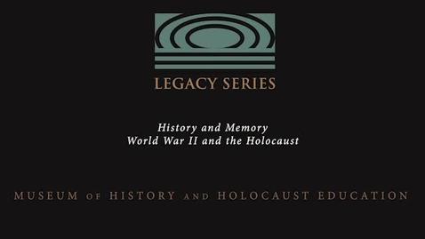 Thumbnail for entry M. Alexis Scott: Holocaust Education
