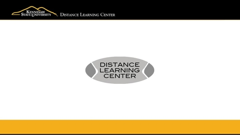 Thumbnail for entry KSU's Distance Learning Center