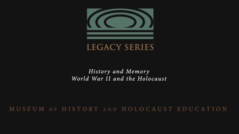 """Thumbnail for entry Herbert Kohn: """"My life changed completely"""""""