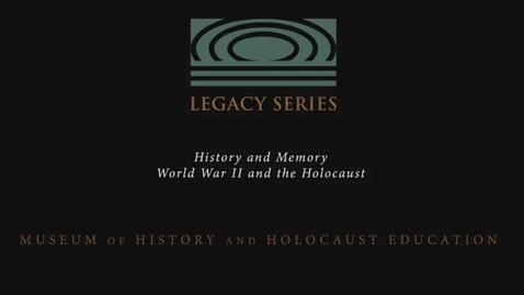 "Thumbnail for entry Edna Hicks: ""Our task, their monument."""