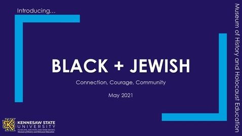 Thumbnail for entry Black + Jewish Teaser