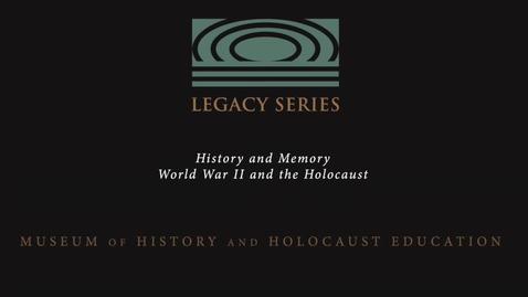 Thumbnail for entry Herbert Kohn: Anti-Jewish Laws