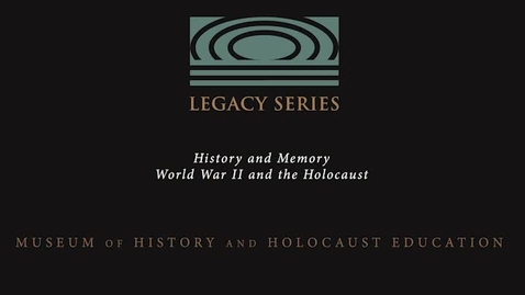 """Thumbnail for entry Marcel Kohler: """"They Did Hide Jewish People"""""""