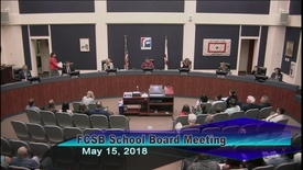 Thumbnail for entry Board Meeting May 15, 2018