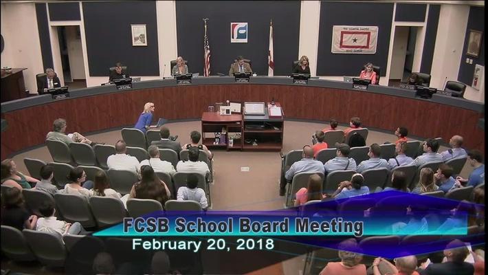 Board Meeting February 20, 2018