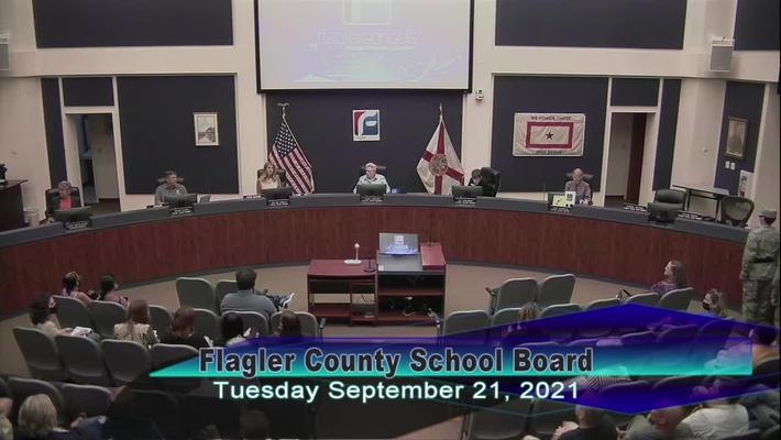 Board Meeting - September 21, 2021