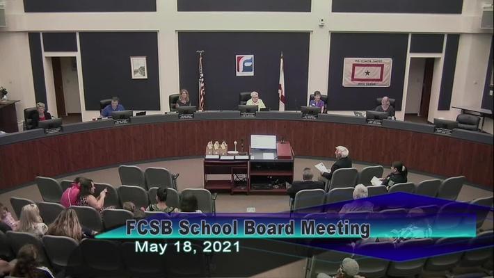 Board Meeting - May 18, 2021