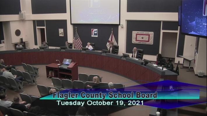 Board Meeting - October 19, 2021