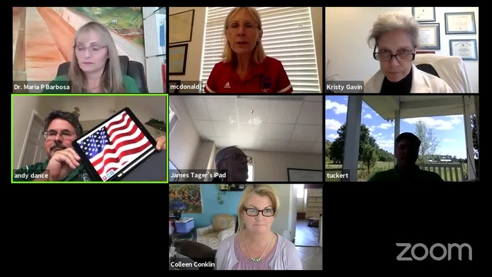 Virtual Board Workshop April 7, 2020