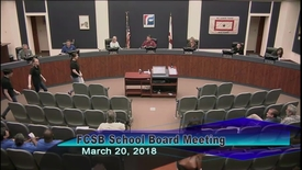 Thumbnail for entry Board Meeting March 20,2018