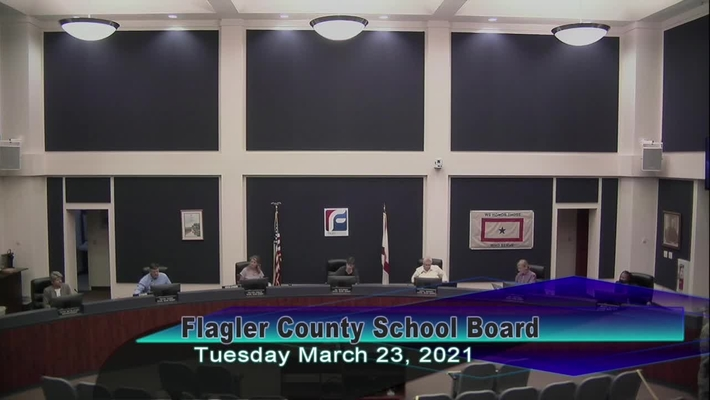 Board Meeting - March 23, 2021