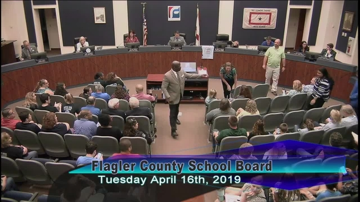 Board Meeting April 16, 2019