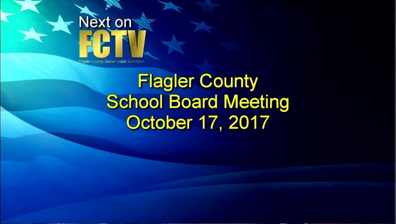 Board Meeting October 17, 2017
