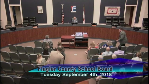 Thumbnail for entry State of Education September 4, 2018