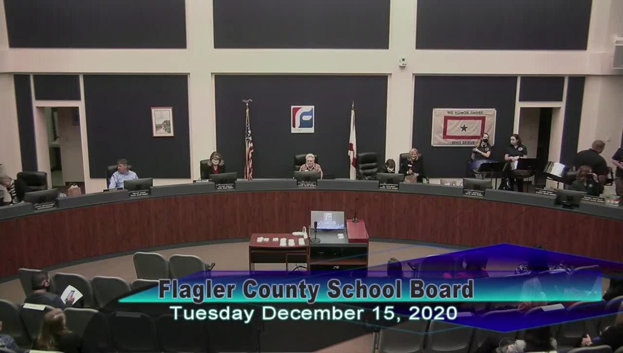Board Meeting - December 15th, 2020