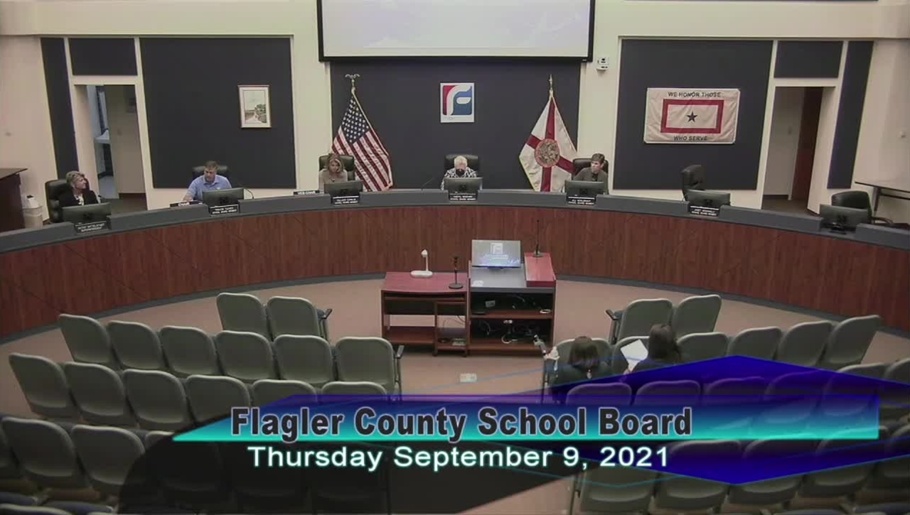 Special Board Meeting - September 9, 2021