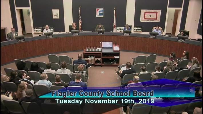 Board Meeting November 19, 2019