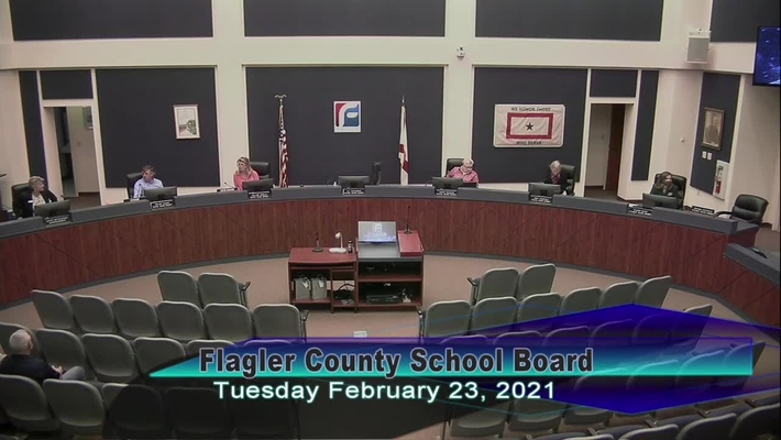 Board Meeting - February 23, 2021