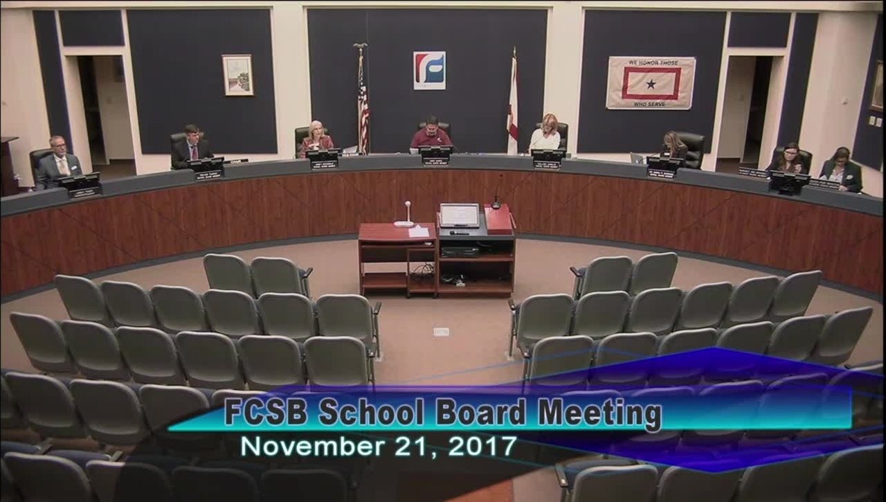 Board Meeting November 21, 2017