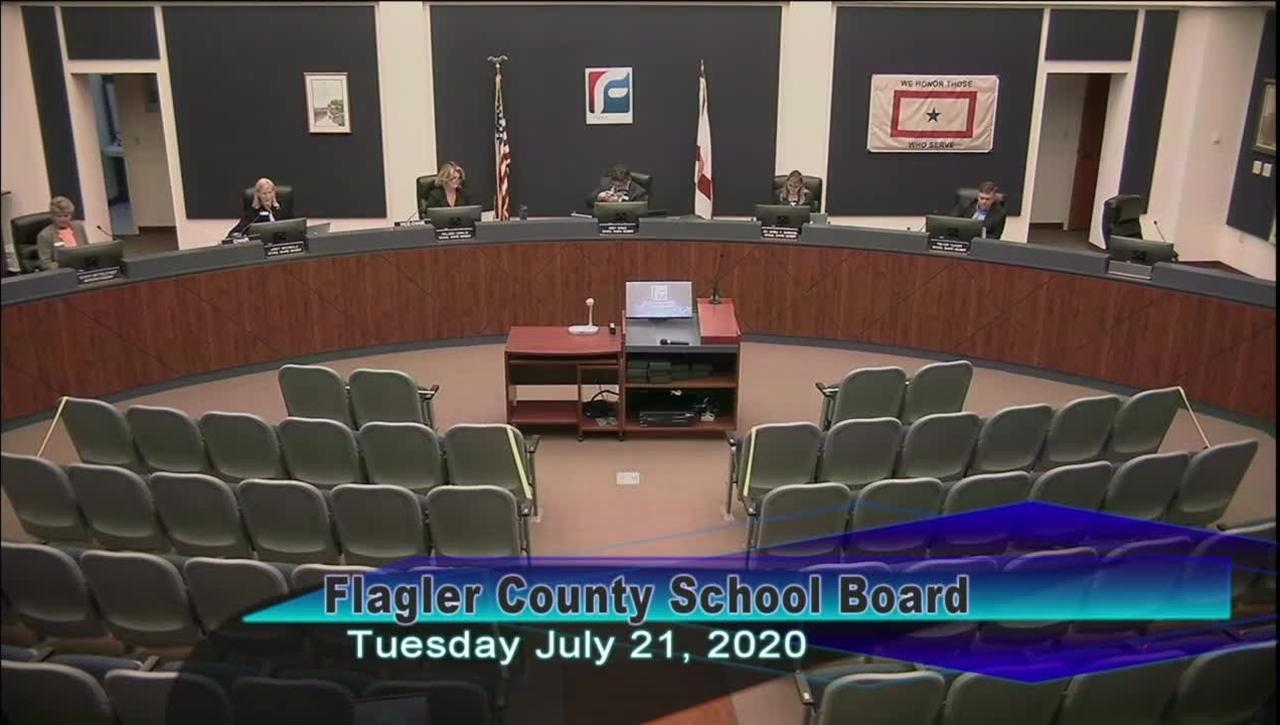 Board Meeting - July 21, 2020