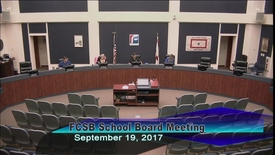 Thumbnail for entry Board Meeting September 19, 2017