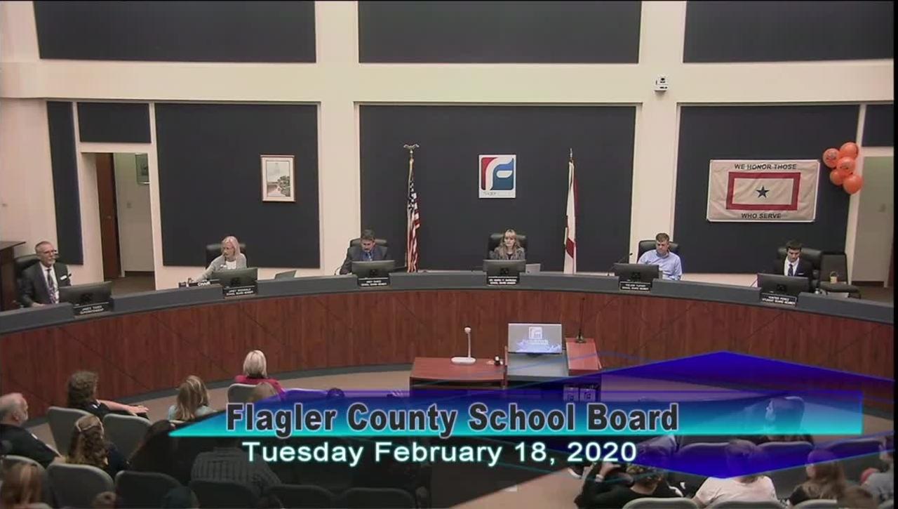Board Meeting February 18th, 2020