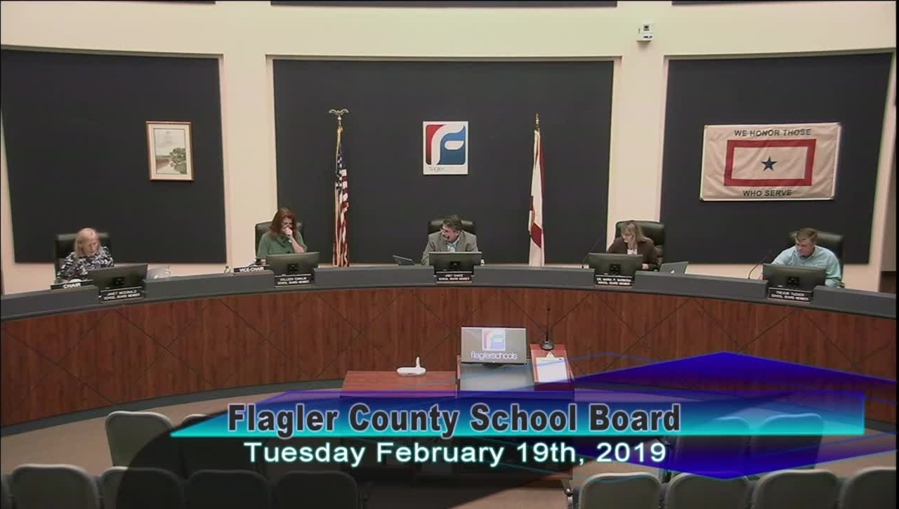 Board Meeting February 19, 2019