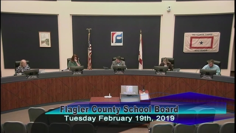 Thumbnail for entry Board Meeting February 19, 2019