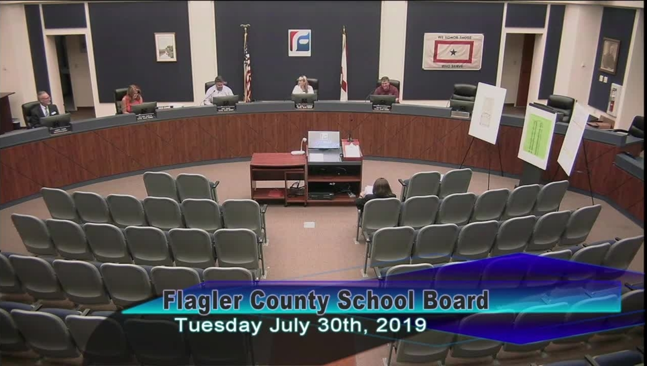 Special Board Meeting July 30, 2019