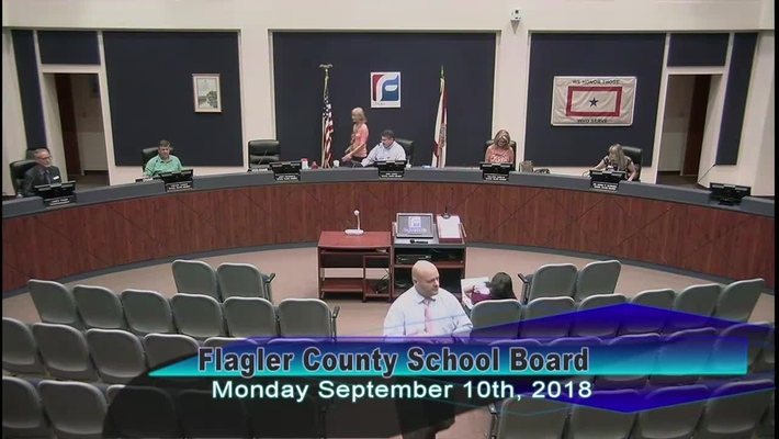 Board Meeting September 10, 2018