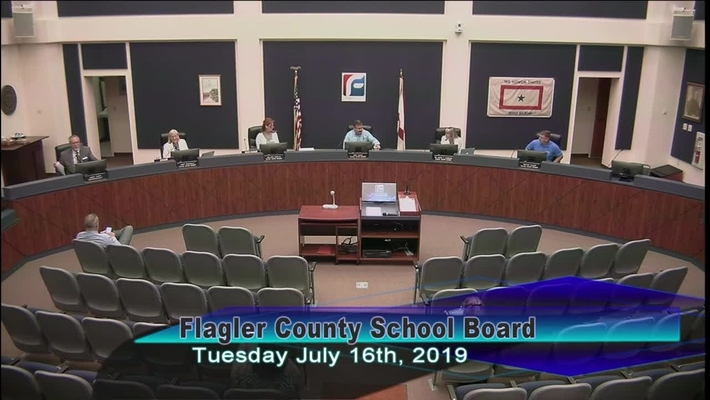 Board Meeting July 16, 2019