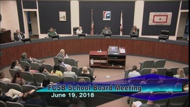 Thumbnail for entry Board Meeting June 19, 2018