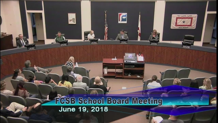 Board Meeting June 19, 2018