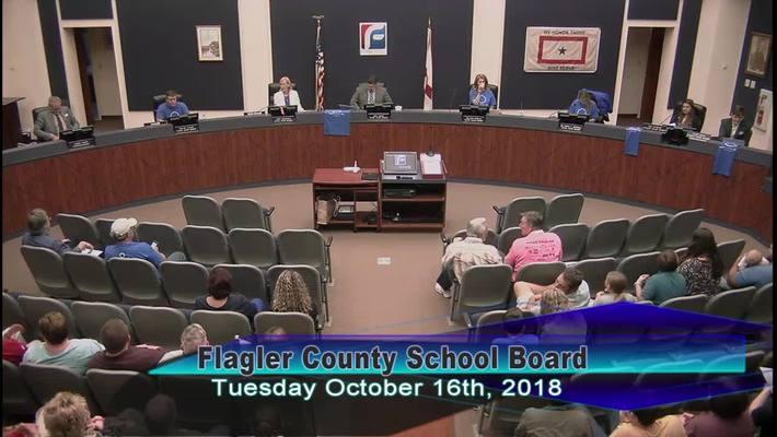 Board Meeting October 16, 2018