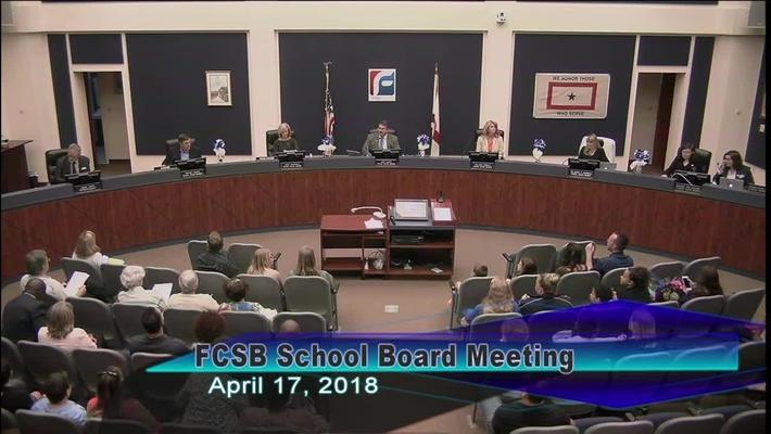 Board Meeting April, 17, 2018
