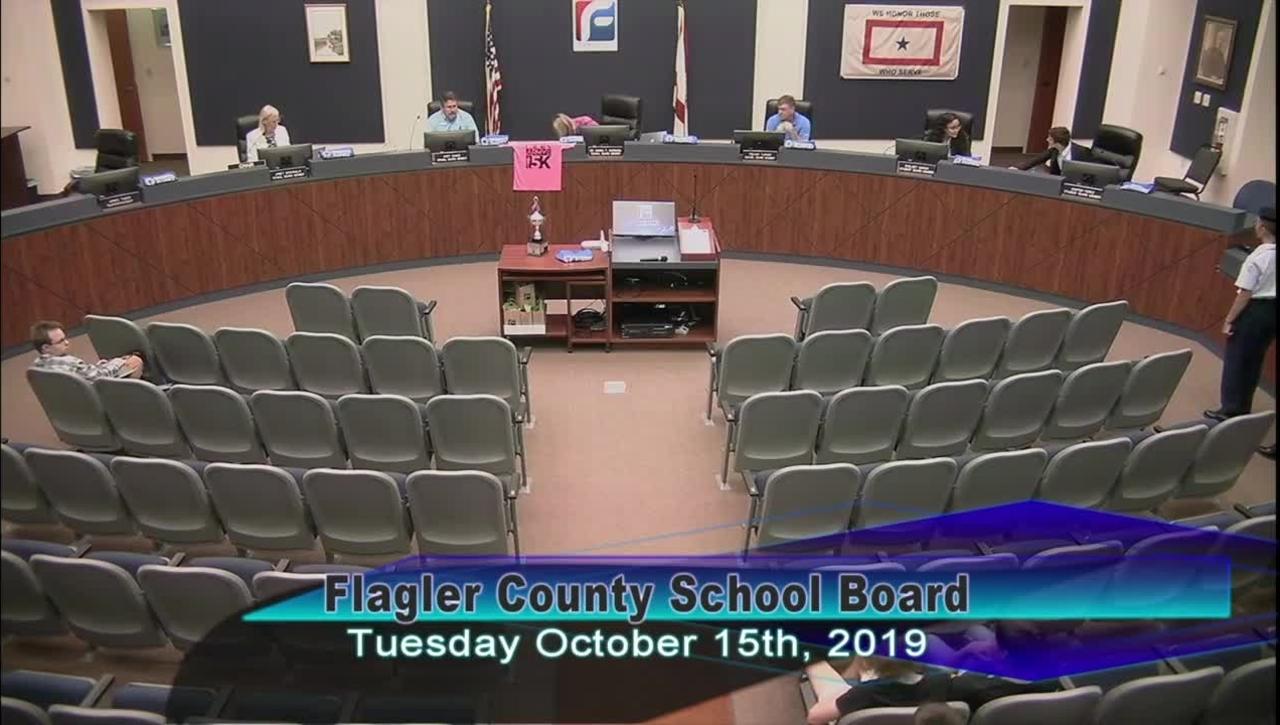 Board Meeting October 15, 2019