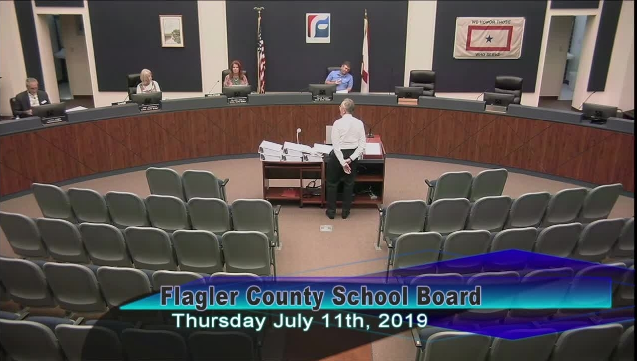 Special Board Meeting July 11, 2019