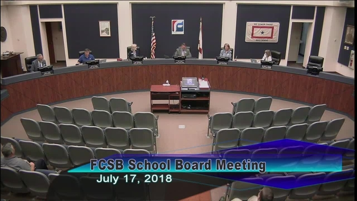 Board Meeting July 17, 2018