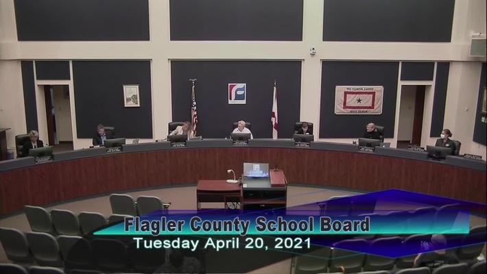 Board Meeting - April 20, 2021