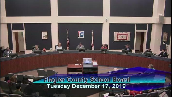 Board Meeting December 17, 2019
