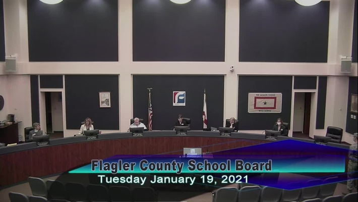 Board Meeting - Jan 19th, 2021